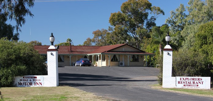 Burke and Wills Motor Inn - Moree - Newcastle Accommodation