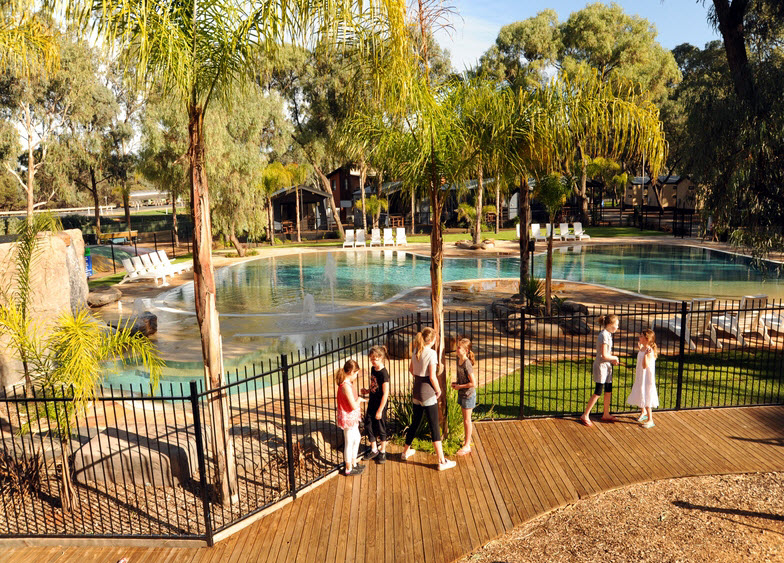 BIG4 Renmark Riverfront Caravan Park - Newcastle Accommodation