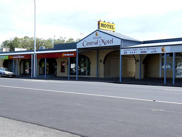 Gin Gin Central Motel - Newcastle Accommodation