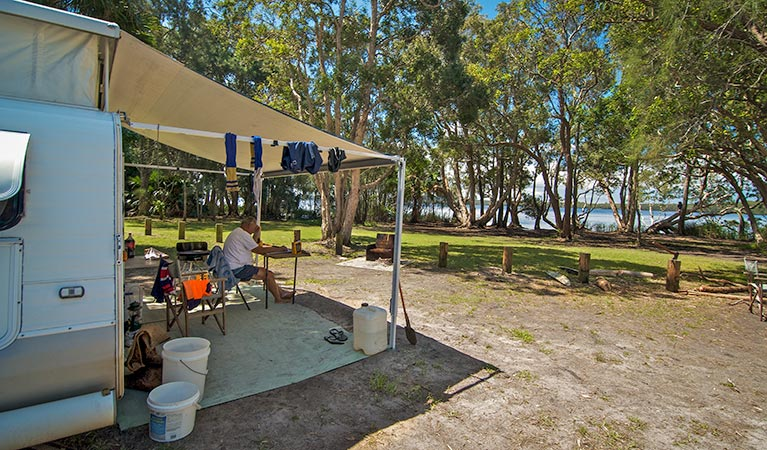 Dees Corner campground - Newcastle Accommodation