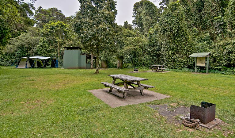 Forest Tops campground - Newcastle Accommodation
