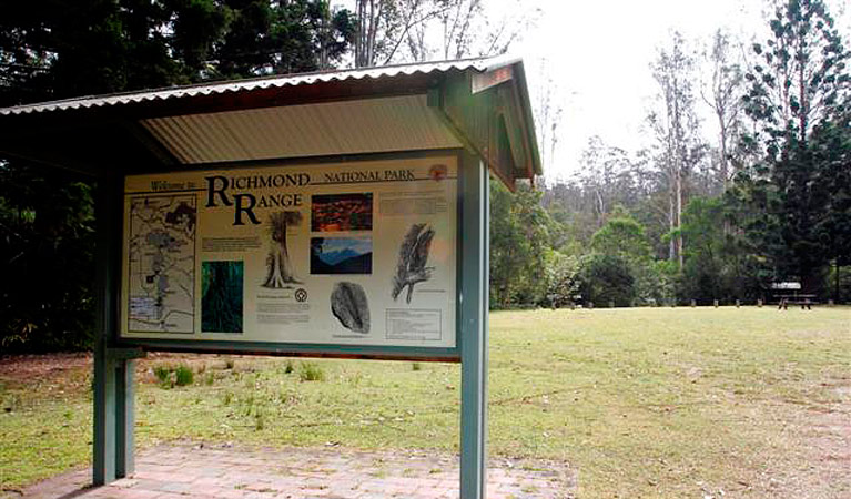 Peacock Creek campground - Newcastle Accommodation