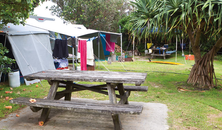 Sandon River campground - Newcastle Accommodation