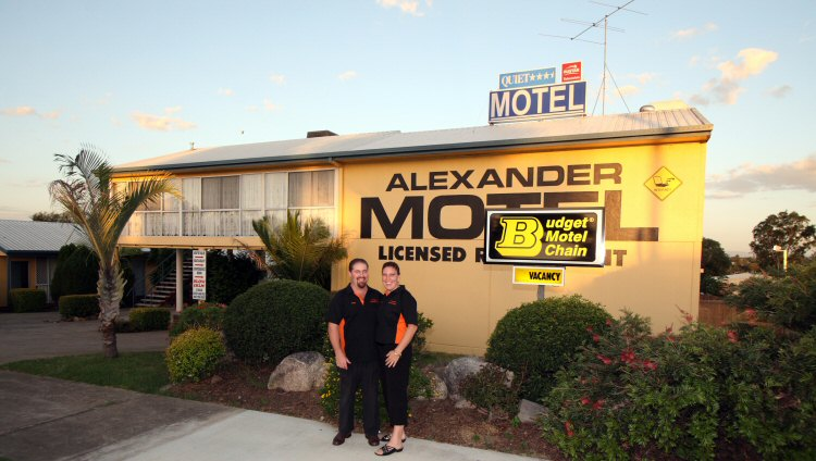 Alexander Motel - Newcastle Accommodation