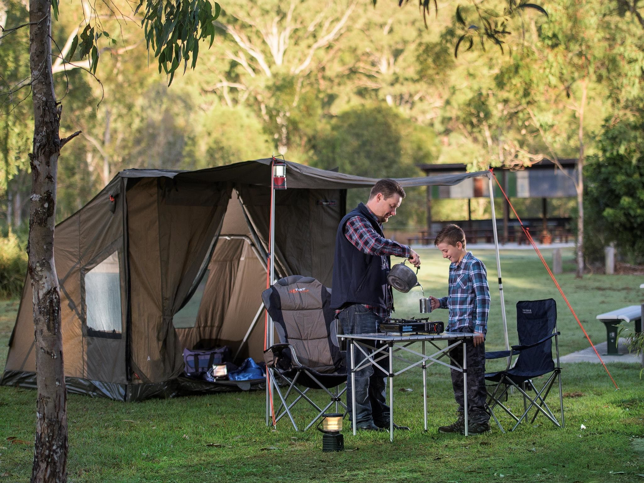 Hardings Paddock Campground - Newcastle Accommodation