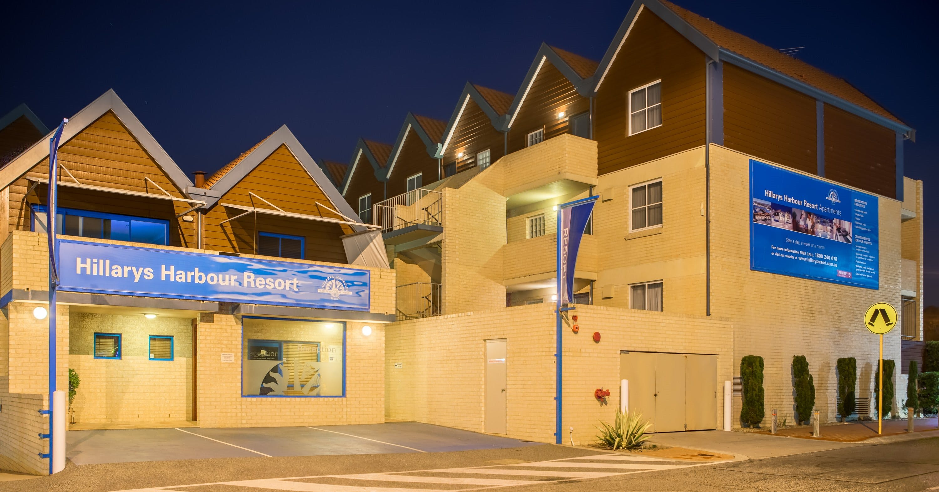 Hillarys Harbour Resort - Newcastle Accommodation