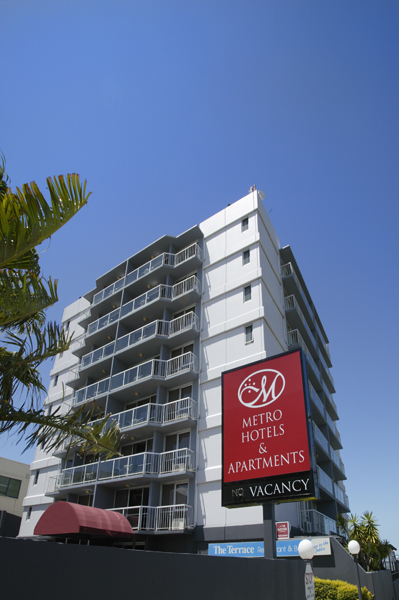 Metro Hotel  Apartments Gladstone - Newcastle Accommodation