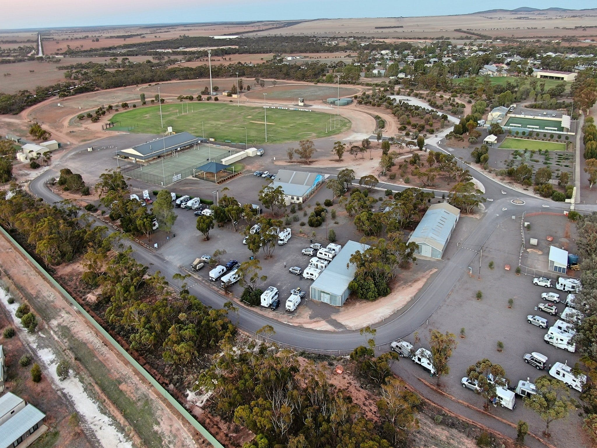 Kimba Recreation Reserve - Newcastle Accommodation