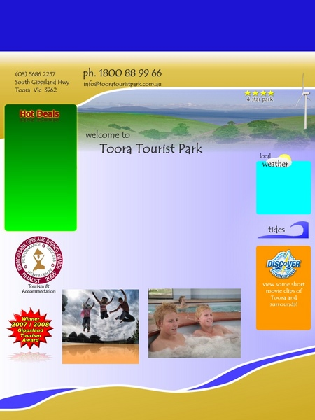 Toora Tourist Park - Newcastle Accommodation