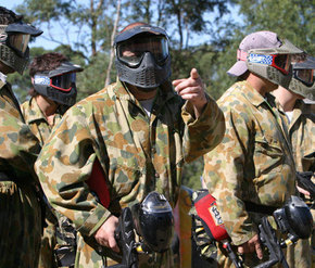 Action Paintball Games - Perth - Newcastle Accommodation