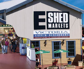 The E Shed Markets - Newcastle Accommodation