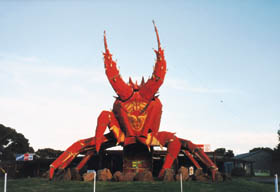 The Big Lobster - Newcastle Accommodation