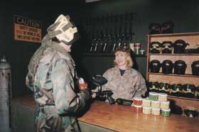 Indoor Skirmish - Paintball Sports - Newcastle Accommodation