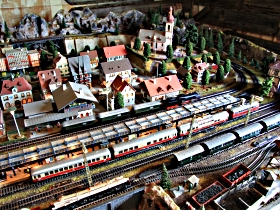 Tudor Court Model Village and German Model Train World - Newcastle Accommodation