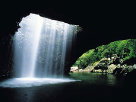 Natural Bridge Springbrook National Park - Newcastle Accommodation