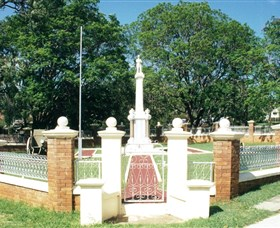 Boonah War Memorial and Memorial Park - Newcastle Accommodation