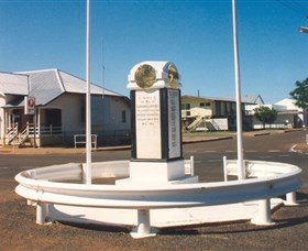 Cloncurry War Memorial - Newcastle Accommodation