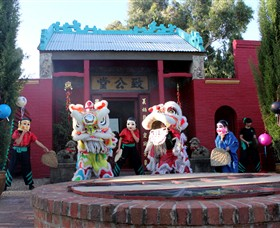 Bendigo Joss House Temple - Newcastle Accommodation