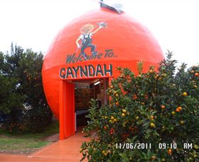 Gayndahs Big Orange - Newcastle Accommodation