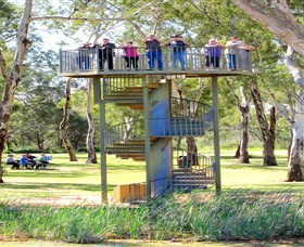 Darling and Murray River Junction and Viewing Tower - Newcastle Accommodation