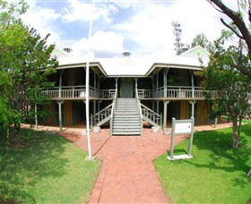 Moree Lands Office Historical Building - Newcastle Accommodation