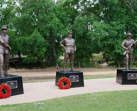 VC Memorial Park - Honouring Our Heroes - Newcastle Accommodation