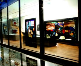 National Art Glass Collection - Newcastle Accommodation