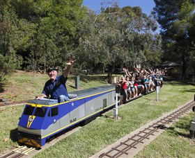 Willans Hill Miniature Railway - Newcastle Accommodation