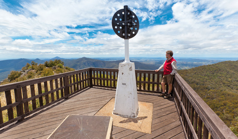 Mount Kaputar summit walk - Newcastle Accommodation