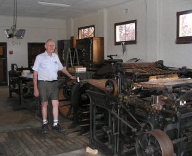 Henty Observer Printing Museum - Newcastle Accommodation