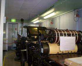 Queanbeyan Printing Museum - Newcastle Accommodation