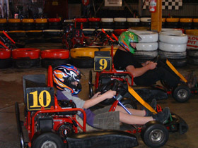 Indoor Kart Hire O'Connor - Newcastle Accommodation