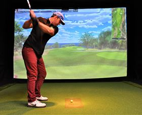 Par-Tee Virtual Golf - Newcastle Accommodation