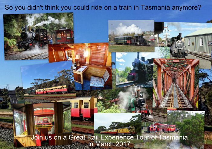 Great Rail Experiences  Tasmania Tour 2017 - Newcastle Accommodation