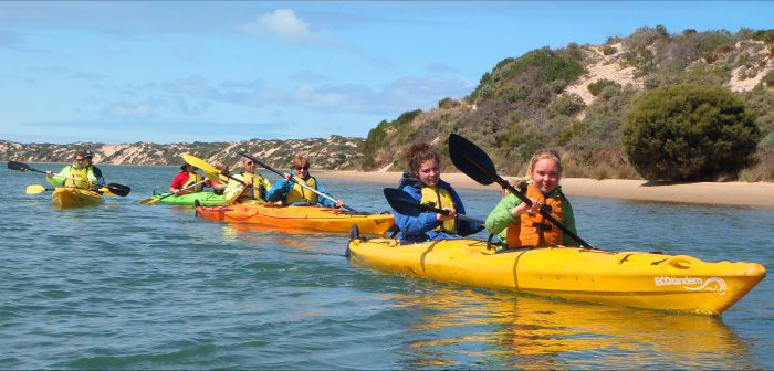 Canoe the Coorong - Newcastle Accommodation
