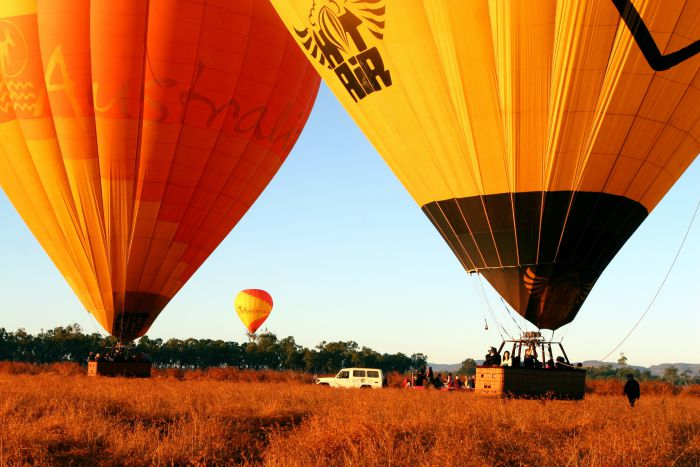 Hot Air Balloon Scenic Rim - Newcastle Accommodation