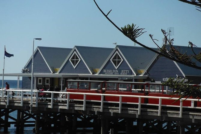 Busselton Jetty Including Train Ride and Underwater Observatory Tour