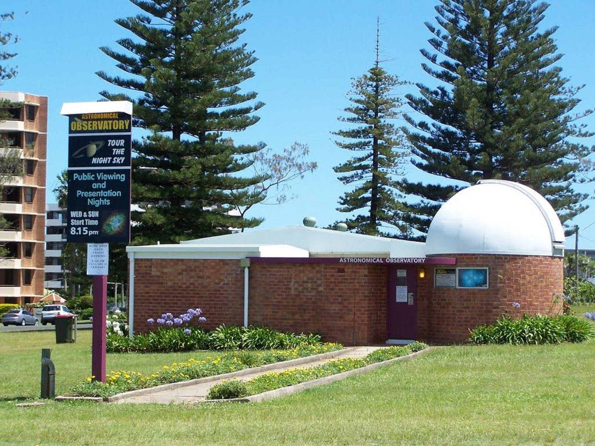 Port Macquarie Astronomical Observatory - Newcastle Accommodation