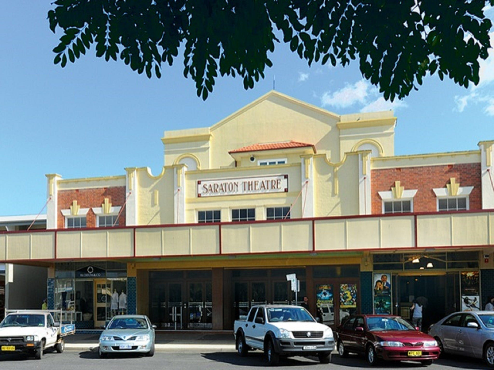 The Saraton Theatre Grafton - Newcastle Accommodation
