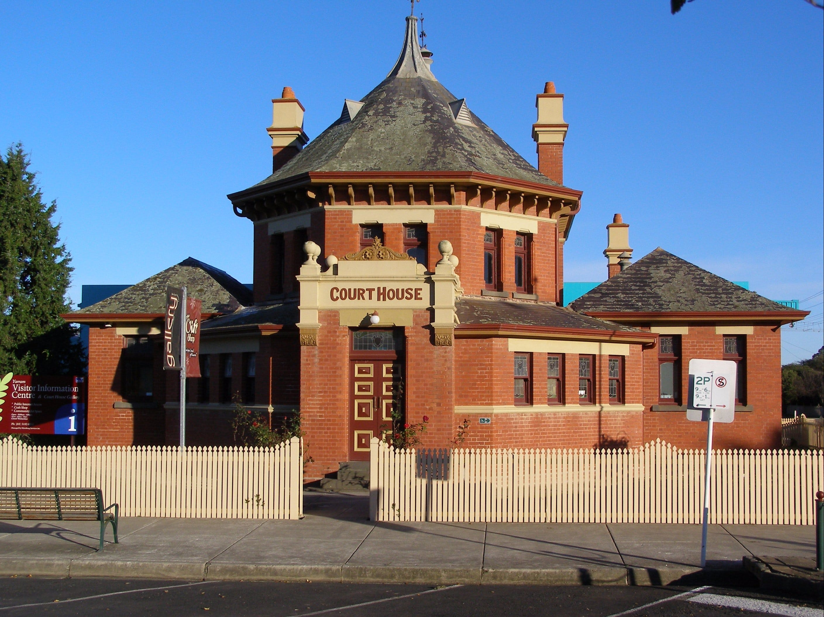 Yarram Courthouse Gallery - Newcastle Accommodation