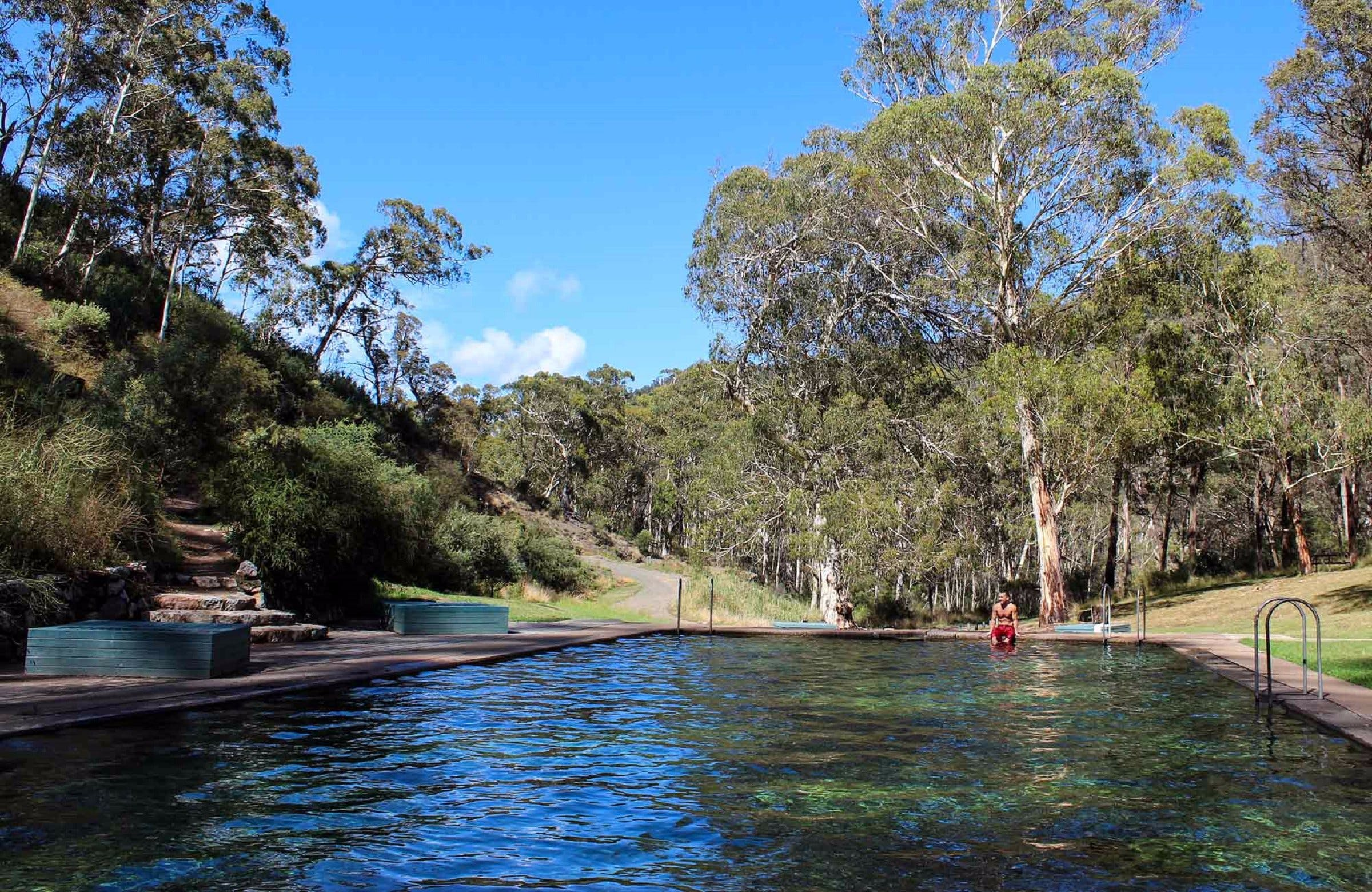 Yarrangobilly Caves Thermal Pool Walk - Newcastle Accommodation