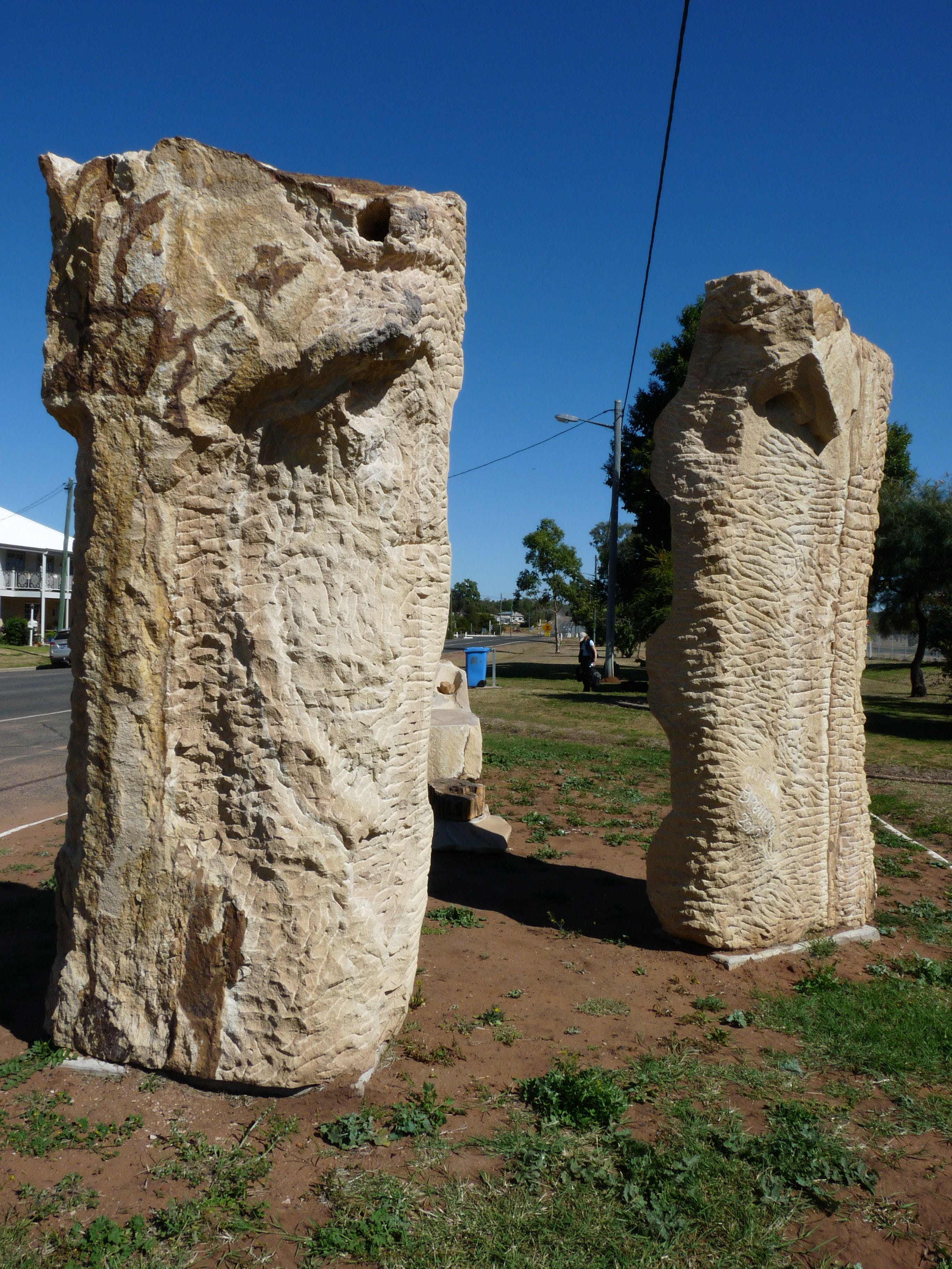 Fossilised Forrest Sculptures - Newcastle Accommodation