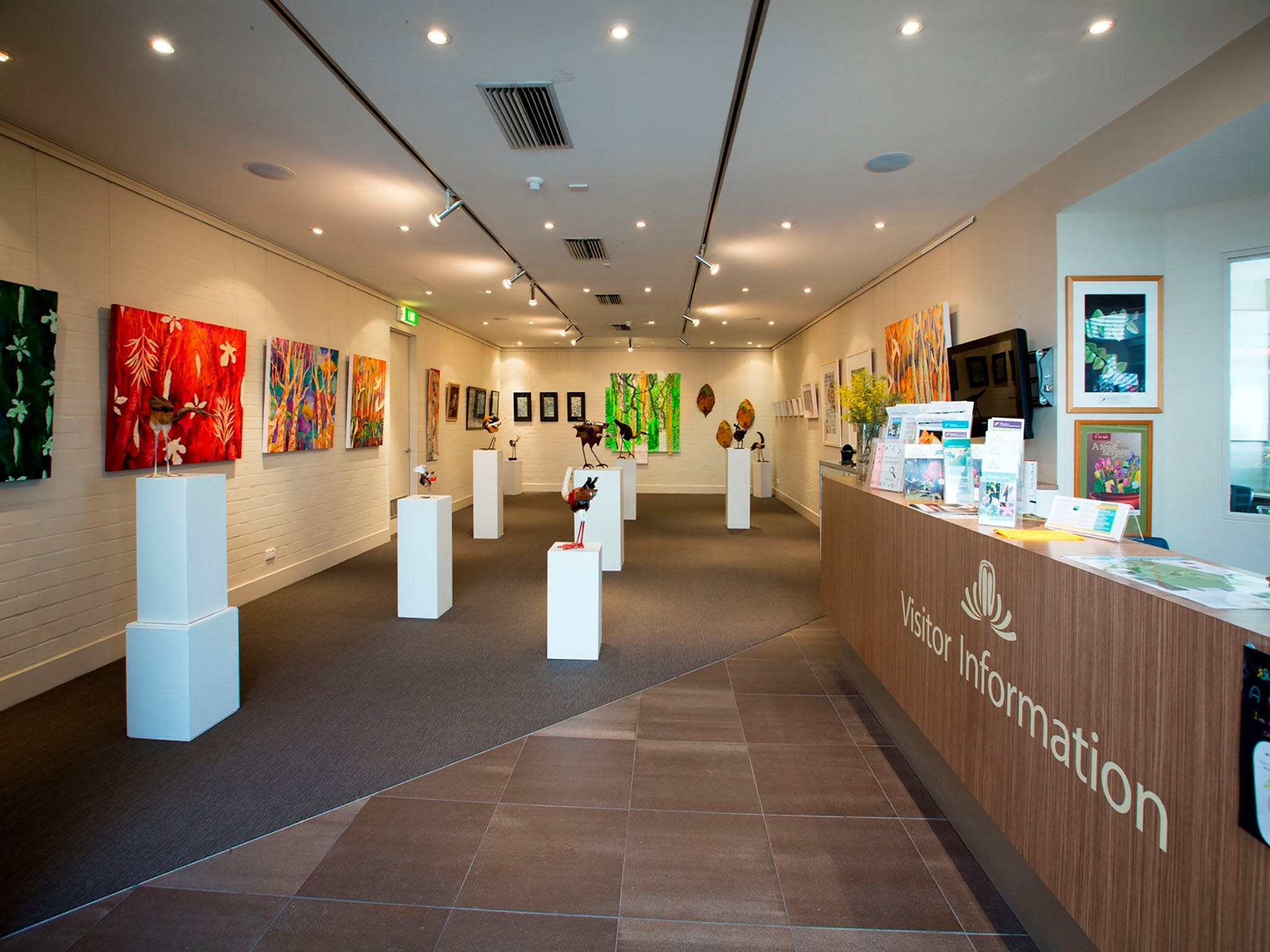 Australian National Botanic Gardens Visitor Centre Gallery - Newcastle Accommodation