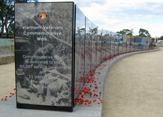 Vietnam Veterans Commemorative Walk - Newcastle Accommodation