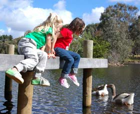 Vasse River and Rotary Park - Newcastle Accommodation