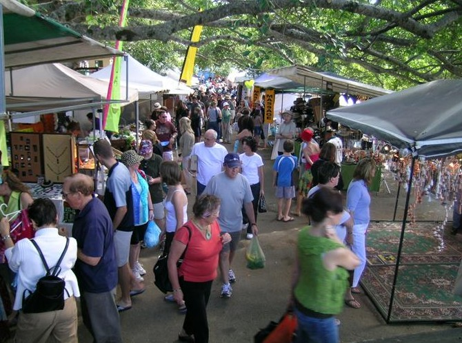 Eumundi Markets - Newcastle Accommodation