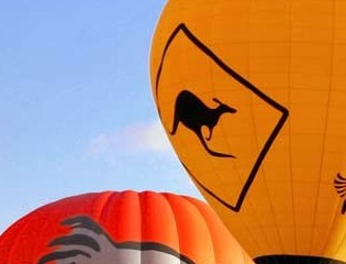 Hot Air Balloon - Newcastle Accommodation