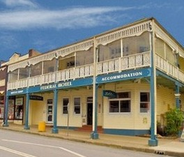 Federal Hotel Bellingen - Newcastle Accommodation