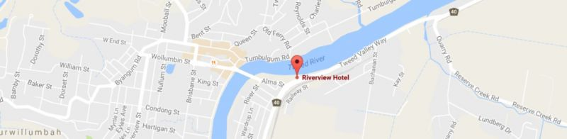 Riverview Hotel Tempe - Newcastle Accommodation