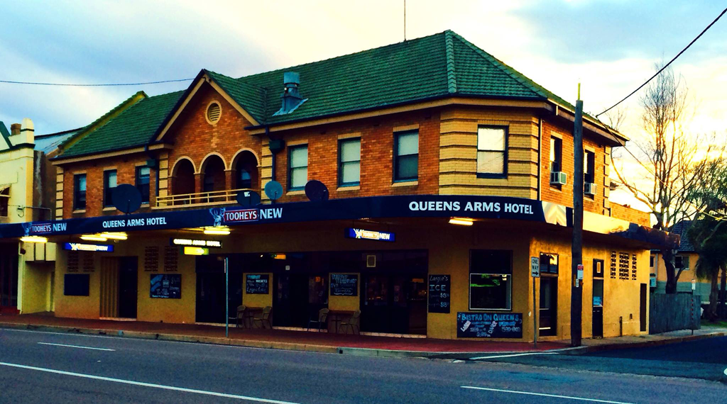 Queens Arms Hotel - Newcastle Accommodation
